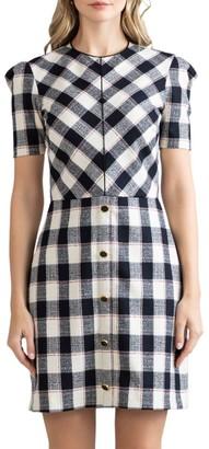 Shoshanna Chester Short-Sleeve Dress