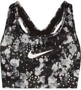Nike Pro Classic Printed Dri-fit Stretch Sports Bra - x small