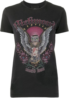 John Richmond vintage print T-shirt