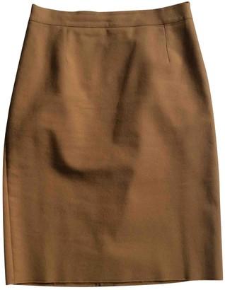 Lanvin Beige Cotton Skirt for Women
