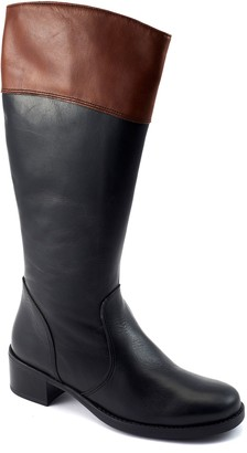 David Tate Leather Riding Boots - Rider