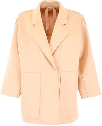 N°21 N.21 Oversized Neoprene Jacket