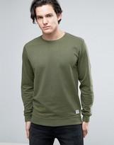 Solid Sweatshirt In Khaki