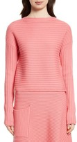 Tibi Women's Ribbed Wool Sweater