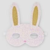 Cat & Jack Girls' Bunny Face Mask Cat & Jack - White