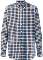 Canali plaid button down shirt - men - Cotton - M
