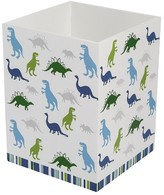 Kassatex Bambini Dino Park Accessories Wastebasket - Multi-Colored