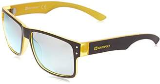 Southpole Men's 5003sp Oxyw Non-polarized Iridium Rectangular Sunglasses
