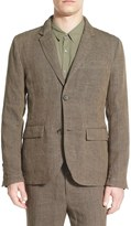 James Perse Delave Regular Fit Linen Blazer