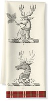 Williams-Sonoma Stag Printed Towels, Set of 2