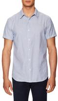 Save Khaki Yarn Dye Oxford Simple Sportshirt