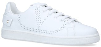 Valentino Perforated Logo Low-Top Sneakers