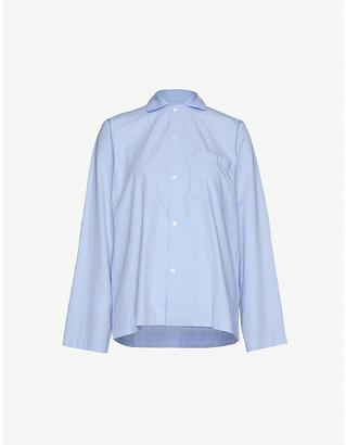 Tekla Long-sleeved organic cotton pyjama top