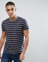 Esprit T-Shirt With Zigzag Stripe