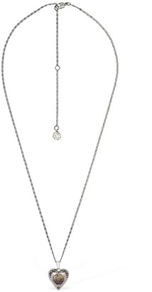 Alexander McQueen Heart Pendant Short Necklace