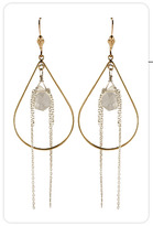 Tina Tang Mixed Teardrop Waterfall Hoops