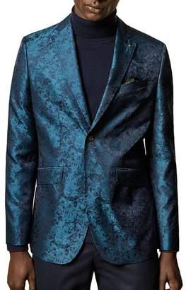 Ted Baker Draper Pashion Floral Jacquard Slim-Fit Suit Jacket