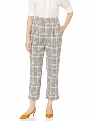 The Fifth Label Women's Landmark Cropped Check Pants
