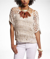 Express Hand Knit Crochet Sweater