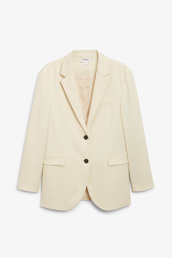 Thumbnail for your product : Monki Single-breasted blazer