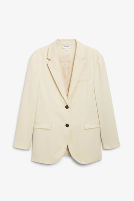 Monki Single-breasted blazer