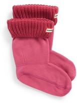 Hunter Women's Short Cable Knit Cuff Welly Boot Socks