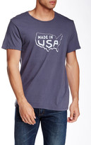 Save Khaki US Map Print Tee