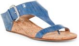 Donald J Pliner Doli Denim Wedge Sandal