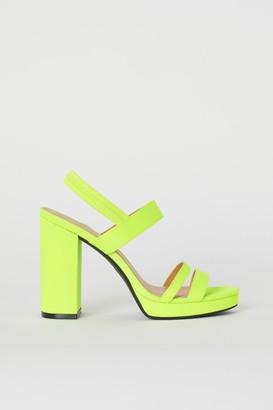 H&M Platform sandals