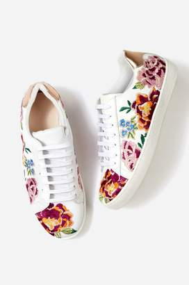 Johnny Was Dylanne Floral Sneaker
