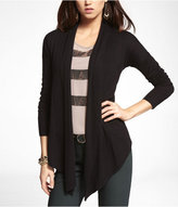 Pointed Hem Open Cover-Up Sweater