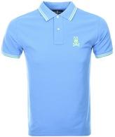 Psycho Bunny Neon Bunny Polo T Shirt Blue