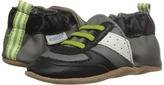 Robeez Super Sporty Lime Soft Sole Boys Shoes