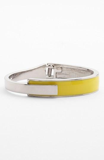 Vince Camuto Enamel Hinged Bracelet (Nordstrom Exclusive)