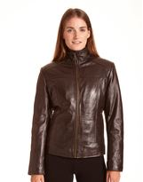 Excelled Women's Excelled Leather Scuba Jacket