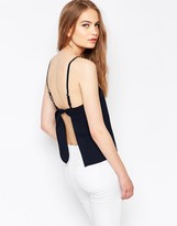 Daisy Street Cami Top With Tie Back