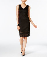 Thalia Sodi Faux-Suede Sheath Dress, Only at Macy's