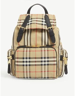 Burberry Vintage Check medium nylon backpack