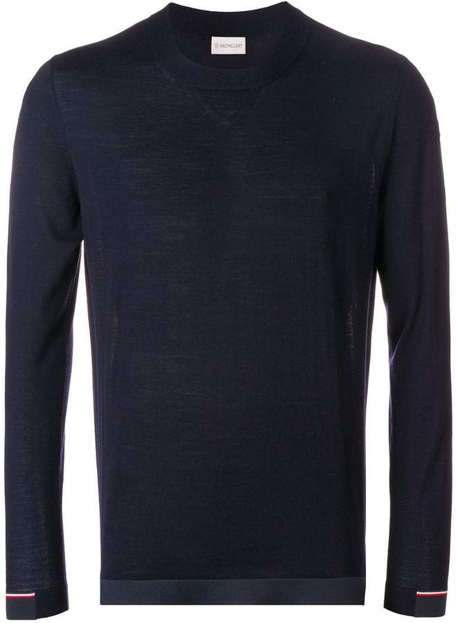 Moncler classic fitted sweater