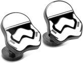 Star Wars Men's Stormtrooper Cufflinks (SW-STH7-BK)