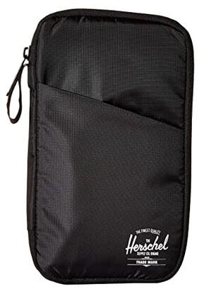 Herschel Travel Wallet (Black) Wallet Handbags