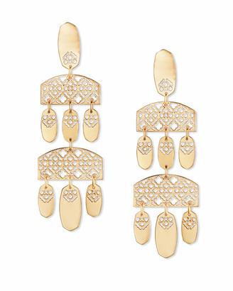Kendra Scott Emmet Statement Earrings in Filigree