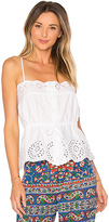 Mes Demoiselles Cute Top in White. - size 38/S (also in 40/M)