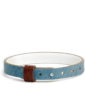 KEEP Collective Reversible Leather Band Charm Bracelet