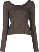 A.L.C. round neck jumper - women - Nylon/Polyester/Merino/Metallic Fibre - XS