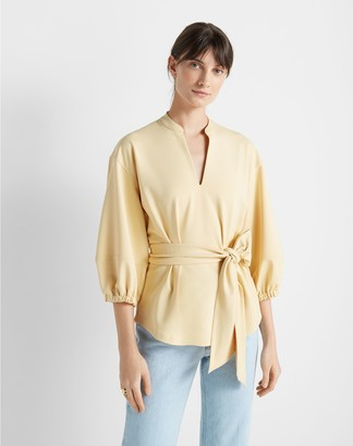 Club Monaco Tunic Wrap Top