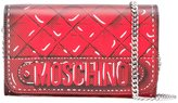 Moschino trompe-l'oeil quilted chain wallet