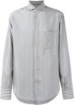 Loro Piana Alain striped shirt - men - Silk - XXL