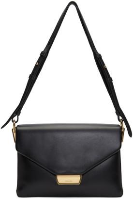 Prada Black Calfskin Hardware Shoulder Bag