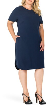 Standards & Practices Tania V-Neck Shift Dress